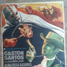 Cine: LOS DIABLOS DEL TERROR. CARTEL MEXICANO. GASTON SANTOS.. Lote 259837740