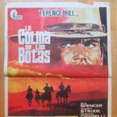 Cine: CARTEL CINE LA COLINA DE LAS BOTAS TERENCE HILL BUD SPENCER 1971 C2007. Lote 259856225