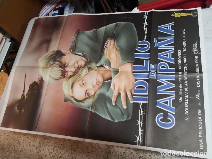 POCO VISTO CARTEL POSTER DE CINE ORIGINAL IDILIO DE CAMPAÑA' DE PIOTR TODOROVSKI CINEMA 2000 (Cine - Posters y Carteles - Bélicas)