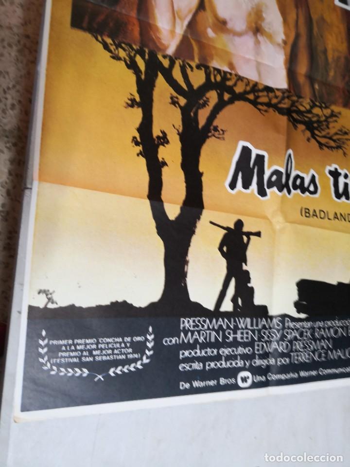 Cine: MALAS TIERRAS badlands MARTIN SHEEN TERRENCE MALICK MCP POSTER ORIGINAL 70X100 ESTRENO - Foto 4 - 259857440