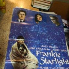 Cine: CARTEL POSTER DE CINE ORIGINAL FRANKIE STARLIGHT. FRANKIE Y LAS ESTRELLAS. Lote 259896020