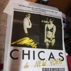 Cine: POSTER CARTEL DE CINE DE LA PELICULA--CHICAS EN NEW YORK. Lote 259905545