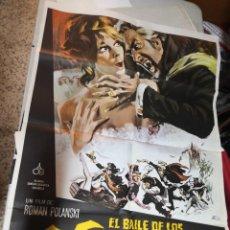 Cine: CARTEL POSTER DE CINE EL BAILE DE LOS VAMPIROS CARTEL ORIGINAL. ALIANZA ESPAÑOLA. Lote 259915210