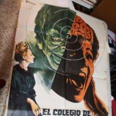 Cine: EL COLEGIO DE LA MUERTE - POSTER CARTEL ORIGINAL - DEAN SELMER SANDRA MOZAROWSKY VICTORIA VERA. Lote 259917040