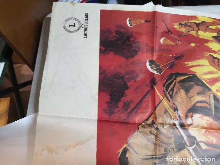 Cine: Cartel de cine COMANDOS ALDO RAY POSTER ORIGINAL - Foto 3 - 259917550