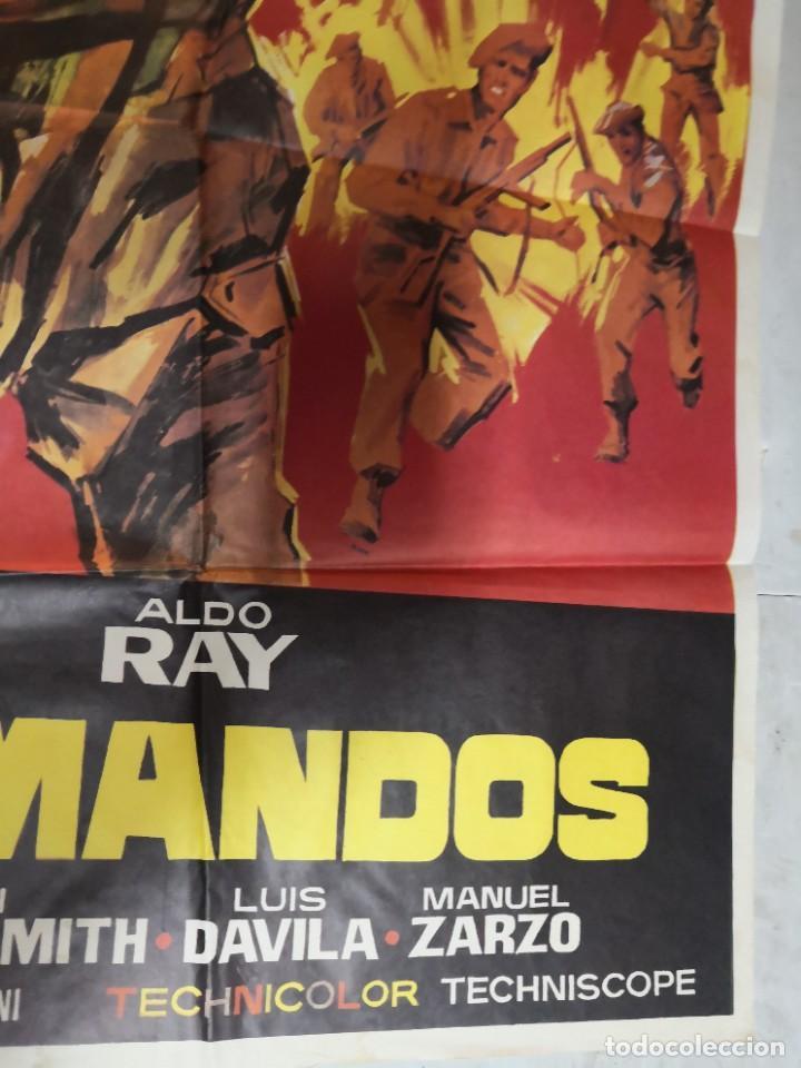 Cine: Cartel de cine COMANDOS ALDO RAY POSTER ORIGINAL - Foto 4 - 259917550