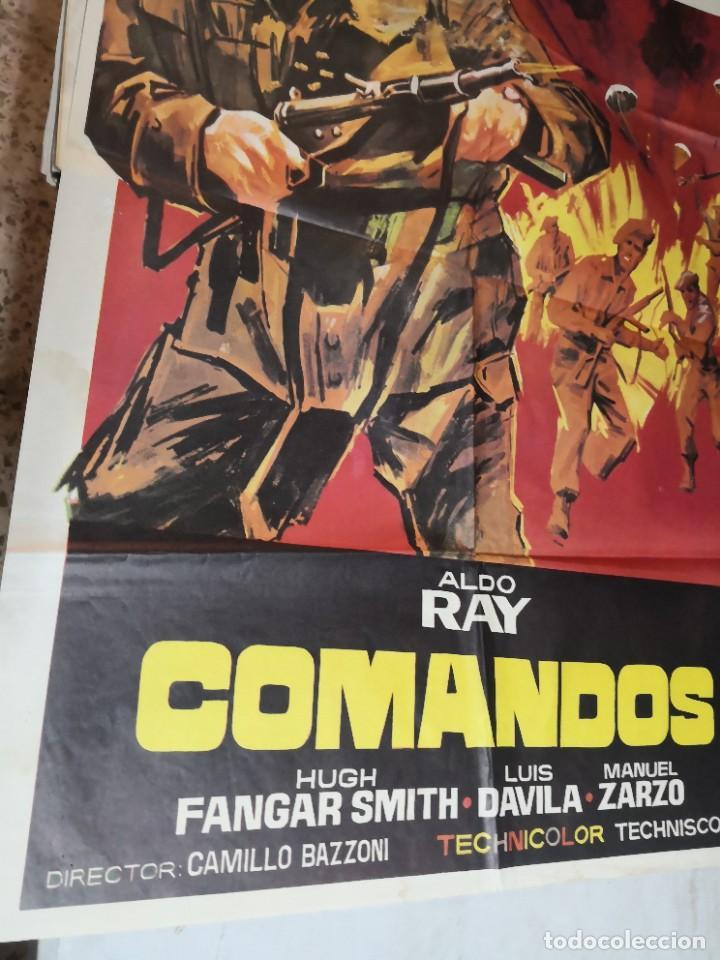 Cine: Cartel de cine COMANDOS ALDO RAY POSTER ORIGINAL - Foto 5 - 259917550