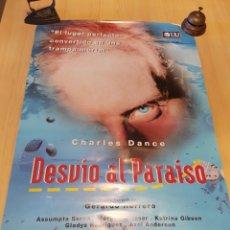 Cine: POSTER DESVÍO AL PARAISO GERARDO HERRERO ASSUMPTA SERNA 96 X 68 CM. Lote 260401730