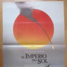 Cine: CARTEL CINE EL IMPERIO DEL SOL STEVEN SPIELBERG JOHN MALKOVICH 1987 C2016. Lote 260820655