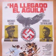 Cine: CARTEL CINE HA LLEGADO EL AGUILA MICHAEL CAINE DONALD SUTHERLAND JANO 1977 C2020. Lote 260827045
