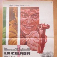 Cine: CARTEL CINE LA CELADA OLIVER REED JILL ST. JOHN 1972 C2024. Lote 260829050