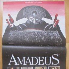 Cine: CARTEL CINE AMADEUS F, MURRAY ABRAHAM TOM HULCE C2032. Lote 260841220