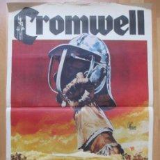 Cine: CARTEL CINE CROMWELL RICHARD HARRIS ALEC GUINNESS 1970 C2033. Lote 260841590