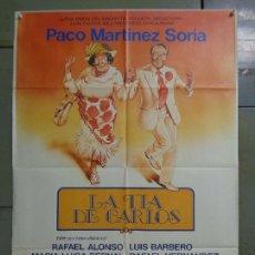 Cinema: CDO K687 LA TIA DE CARLOS PACO MARTINEZ SORIA POSTER ORIGINAL 70X100 ESTRENO. Lote 260861490