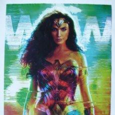 Cinema: WONDER WOMAN 1984, CON GAL GADOT. POSTER 68,5 X 98,5 CMS.,. Lote 261114480