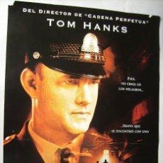 Cine: LA MILLA VERDE, CON TOM HANKS. PÓSTER 68 X 98 CMS.. 1999.. Lote 261137135