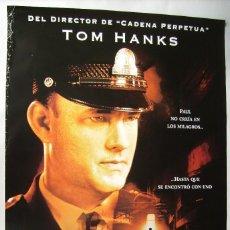 Cine: LA MILLA VERDE, CON TOM HANKS. PÓSTER 68 X 98 CMS.. 1999.. Lote 261137460