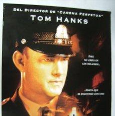 Cine: LA MILLA VERDE, CON TOM HANKS. PÓSTER 68 X 98 CMS.. 1999.. Lote 261137840