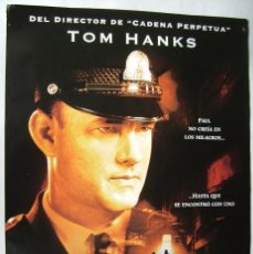 Cine: LA MILLA VERDE, CON TOM HANKS. PÓSTER 68 X 98 CMS.. 1999.. Lote 261138090