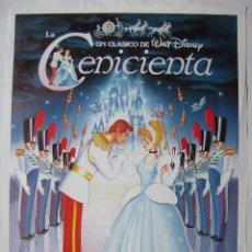 Cine: LA CENICIENTA, DE WALT DISNEY. POSTER 70 X 100 CMS.,. Lote 261159655