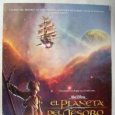Cine: EL PLANETA DEL TESORO. POSTER 69 X 98,5 CMS.,. Lote 261167610