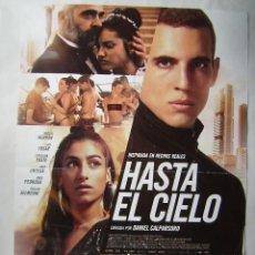 Cine: HASTA EL CIELO, CON LUIS TOSAR. PÓSTER 68 X 98 CMS.. Lote 261287325