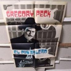 Cine: EL PISTOLERO GREGORY PECK POSTER ORIGINAL 70X100 YY (2651). Lote 261790940