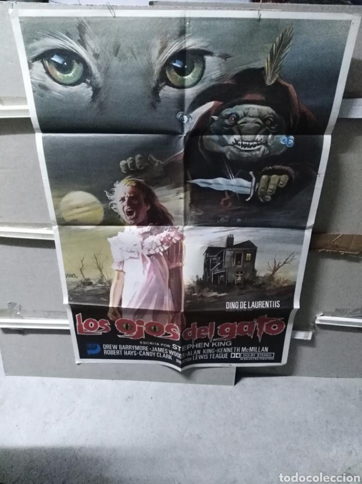 LOS OJOS DEL GATO STEPHEN KING DREW BARRYMORE POSTER ORIGINAL 70X100 YY (2655) (Cine - Posters y Carteles - Terror)