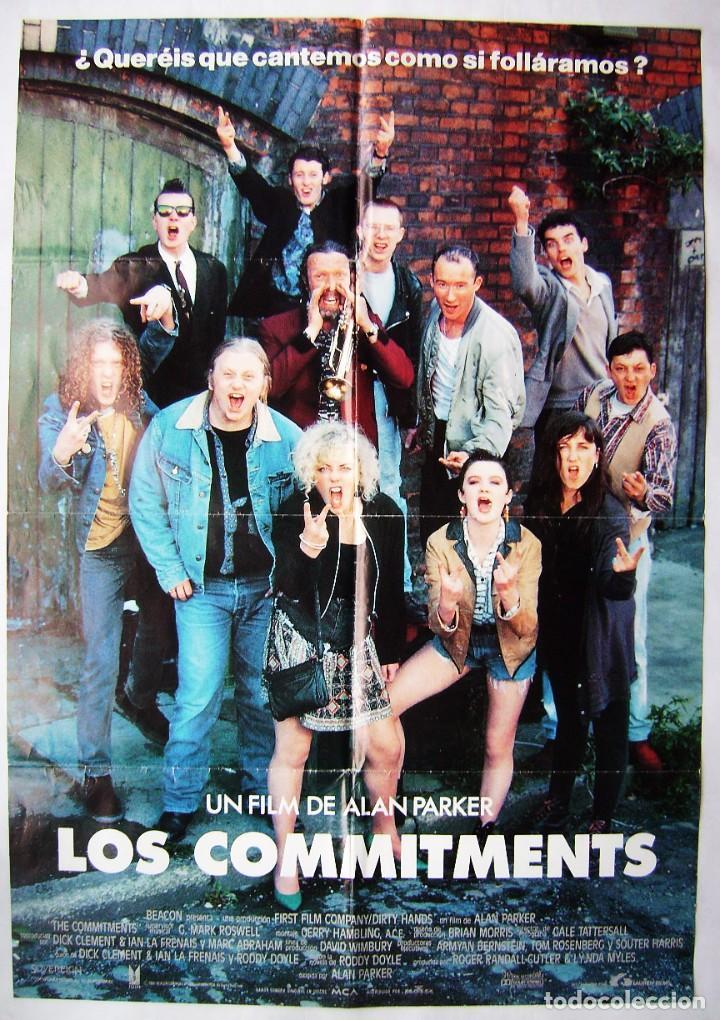 LOS COMMITMENTS, POR ALAN PARKER . PÓSTER.. 68 X 97 CMS.1962 (Cine - Posters y Carteles - Acción)