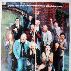 Cine: LOS COMMITMENTS, POR ALAN PARKER . PÓSTER.. 68 X 97 CMS.1962. Lote 261841530