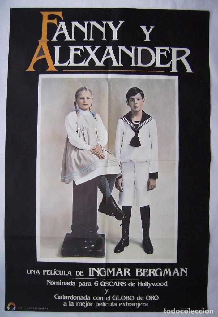 FANNY Y ALEXANDER, DE INGMAR BERGMAN . POSTER 64,5 X 96,5 CMS. 1984. (Cine- Posters y Carteles - Drama)