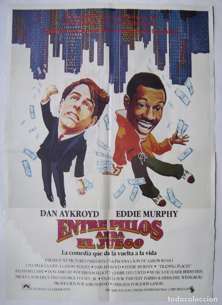 ENTRE PILLOS ANDA EL JUEGO, CON EDDIE MURPHY . POSTER 70 X 100 CMS. (Cine- Posters y Carteles - Drama)
