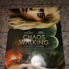 Cine: POSTER ORIGINAL CHAOS WALKING 100X70. Lote 261953175