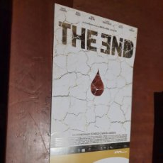 Cine: THE END. EDUARDO CHAPERO-JACKSON. CARTEL PROMO CORTOMETRAJE. DETRÁS INFO. BUEN ESTADO. DIFICIL. Lote 262006790