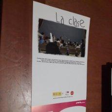 Cine: LA CLASE. BEATRIZ M. SANCHIS. CARTEL PROMO CORTOMETRAJE. DETRÁS INFO. BUEN ESTADO. DIFICIL. Lote 262007460