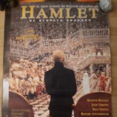 Cine: HAMLET - APROX 70X100 CARTEL ORIGINAL CINE (L87). Lote 262139660
