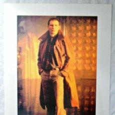 Cine: BLADE RUNNER ORIGINAL 1982 RICK DECKARD - HARRISON FORD, LAMINA ESCENA DE LA PELICULA, 30.5 X 23 CMS. Lote 262170710