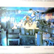 Cine: BLADE RUNNER ORIGINAL 1982 ,CHEW - JAMES HONG, LAMINA ESCENA DE LA PELICULA, 23 X 30.5 CMS. Lote 262171635