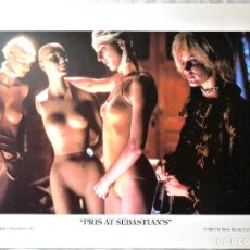 Cine: BLADE RUNNER ORIGINAL 1982 ,PRIS AT SEBASTIAN'S, LAMINA ESCENA DE LA PELICULA, 23 X 30.5 CMS. Lote 262171845