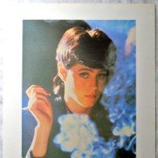 Cine: BLADE RUNNER ORIGINAL 1982 ,RACHAEL - SEAN YOUNG , LAMINA ESCENA DE LA PELICULA, 23 X 30.5 CMS. Lote 262172510