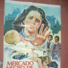 Cine: CARTEL DE CINE 70X 100 APROX MOVIE POSTER VER FOTO MERCADO DE BEBES. Lote 262219405