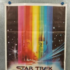 Cine: STAR TREK, LA PELÍCULA. WILLIAM SHATNER, LEONARD NIMOY. AÑO 1980. POSTER ORIGINAL. Lote 262236700