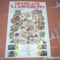 Cine: CARTEL DE CINE 70X 100 APROX MOVIE POSTER VER FOTO DESPELOTE EN EL CAMPAMENTO. Lote 262242155