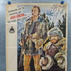 Cine: EL AULLIDO DE LOS LOBOS. RON ELY, RAIMUND HARMSTORF, GILA VON WEITERSHAUSEN AÑO 1963 POSTER ORIGINAL. Lote 262265870