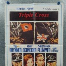 Cine: TRIPLE CROSS - LA VERDADERA HISTORIA DE EDDIE CHAPMAN. CHRISTOPHER PLUMMER, ROMY SCHNEIDER. AÑO 1980. Lote 262267785