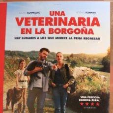 Cine: PÓSTER UNA VETERINARIA EN LA BORGOÑA. Lote 262269715