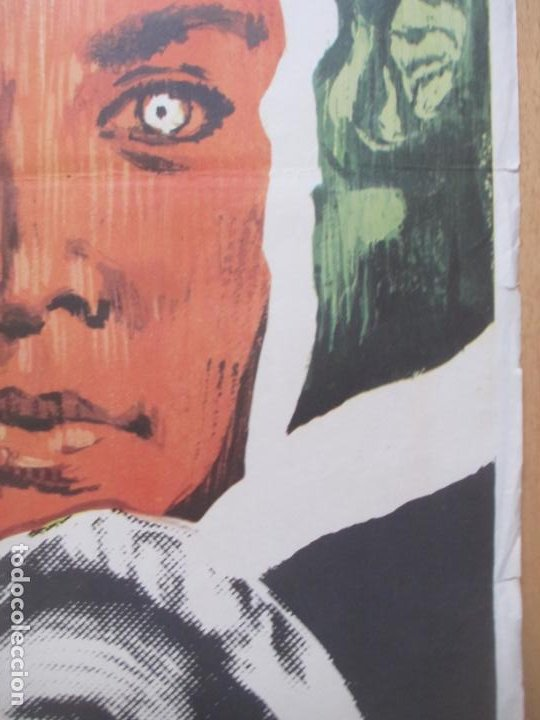 Cine: CARTEL CINE EL ULTIMO HOMBRE... VIVO CHARLTON HESTON ANTHONY ZERBE 1971 C2062 - Foto 2 - 262387225