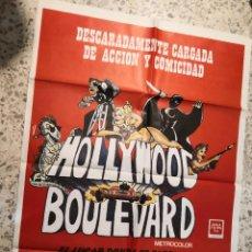 Cine: POSTER CARTEL HOLLYWOOD BOULEVARD ORIGINAL. Lote 262395045