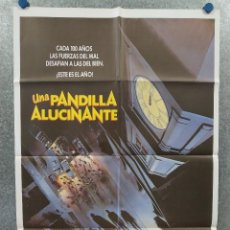 Cine: UNA PANDILLA ALUCINANTE. ANDRE GOWER, ROBBY KIGER, STEPHEN MACHT. POSTER ORIGINAL. Lote 262395505