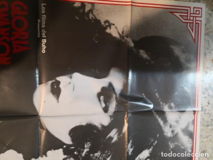Cine: LA REINA KELLY GLORIA SWANSON ERICH VON STROHEIM POSTER ORIGINAL 70X100 ESPAÑOL - Foto 2 - 262633060